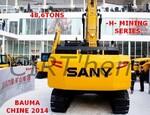 SANY GROUP': une -H- mining de 48,6 tonnes supérieure.