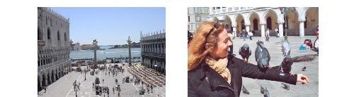 Piazetta de Venise et le palais des doges