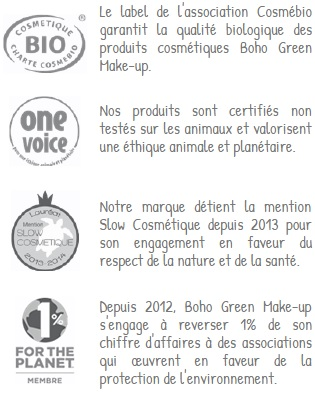 ethique Boho Green Makeup