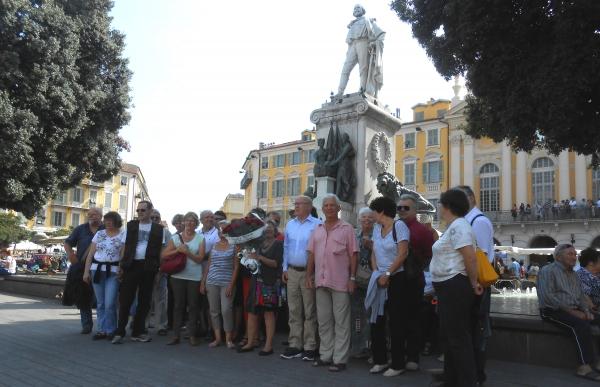 Les libres penseurs de la région PACA rendaient hommage à Jaurès et Garibaldi samedi à Nice.
