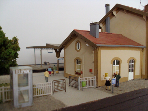 La gare de Charmes en HO