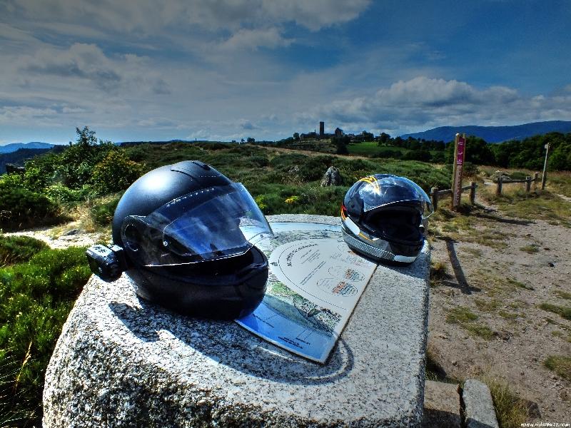 balade moto entre Lozère et Ardèche....