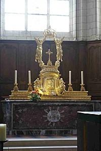 Maître autel 1735