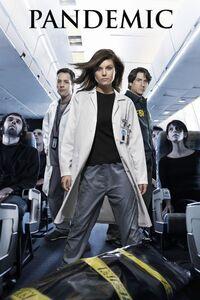 Pandémic : virus fatal : Lorsqu'un surfer meurt dans un avion, les passagers sont tous placés en quarantaine jusqu'a ce que les chercheurs aient identifié ce qui l'a tué. Mais un passager s'évade, et commence inconsciemment à infecter les personnes qu'il croise. Un véritable pandémie s'abat alors sur la ville, et des scientifiques entament une course contre la montre pour trouver un vaccin avant que des milliers de personnes ne meurent ... ----- ... Status de production Production achevée Avec Tiffani Thiessen, Vincent Spano, French Stewart, Bob Gunton Genre Drame, Fantastique Durée 60min Nationalité U.S.A. Date 2007 à 2007