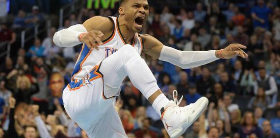 18e triple double de la saison pour Westbrook