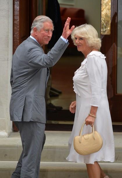 Charles et Camilla à la maternité