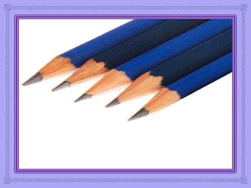 Les cinq qualités du crayon