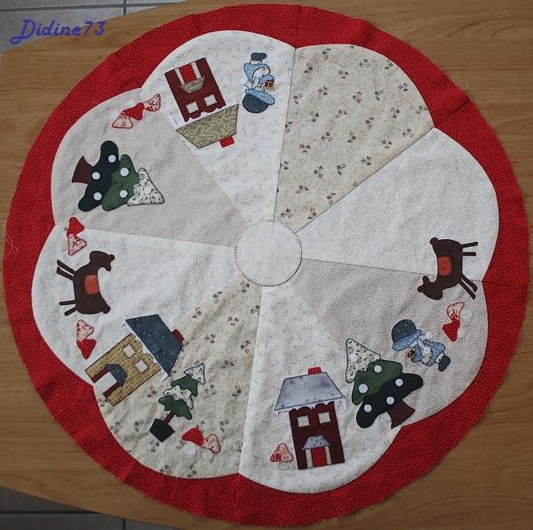 Mon tapis de sapin - étape 4
