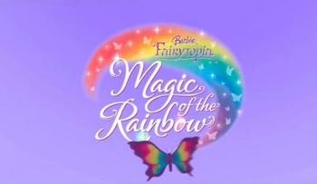 Logo du film Barbie Magie de L'Arc-en-ciel