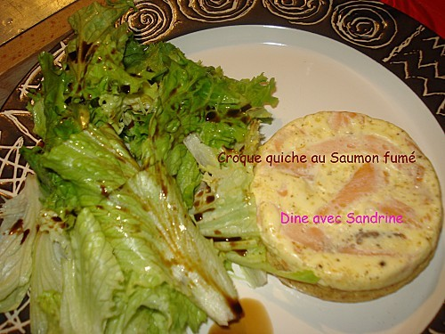 Croque quiche Saumon fumé 5