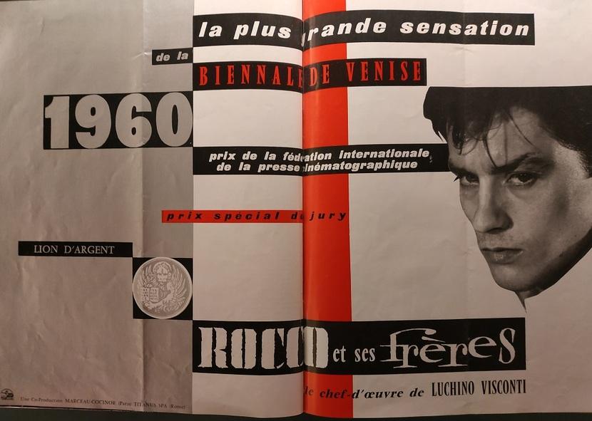ROCCO ET SES FRERES - ROCCO E I SUOI FRATELLI - ALAIN DELON BOX OFFICE 1961