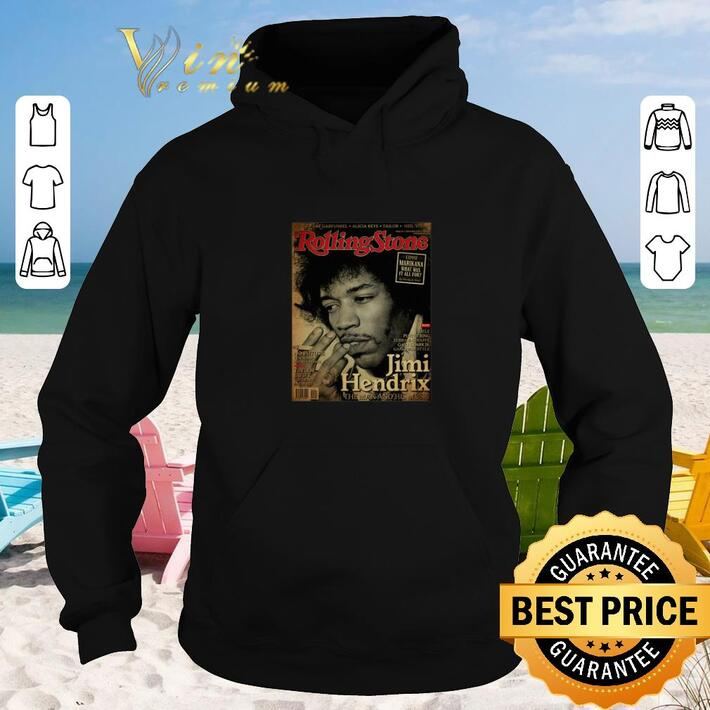 Awesome Rolling Stone Jimi Hendrix the man and his music poster shirt