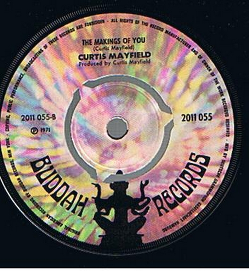 1970 : Single SP Curtom Records CR 1955 [ US ]