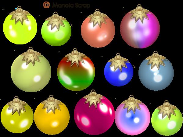 Boules de Noël page 9