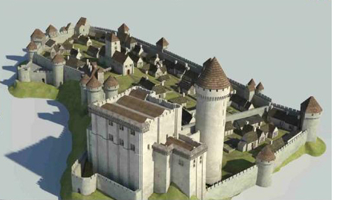 LES REMPARTS DE FALAISE (Calvados)