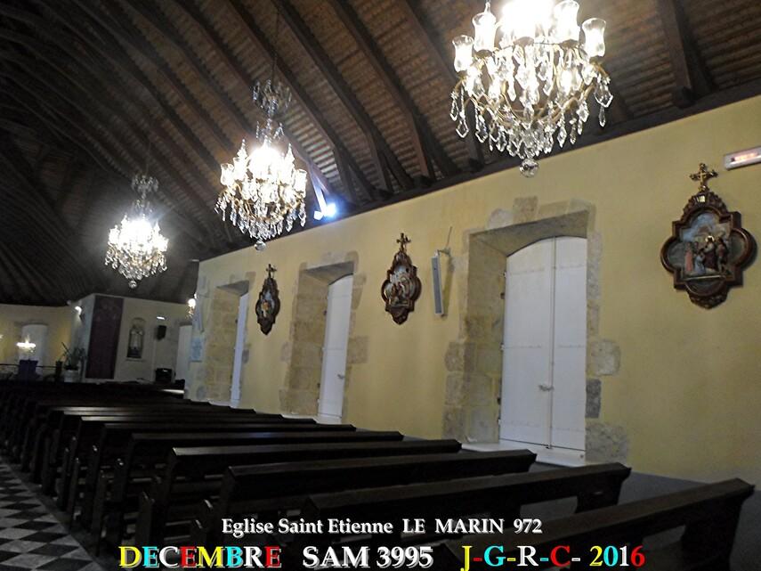 Eglise 1/2  Saint Etienne du MARIN   972               D    02/03/2018
