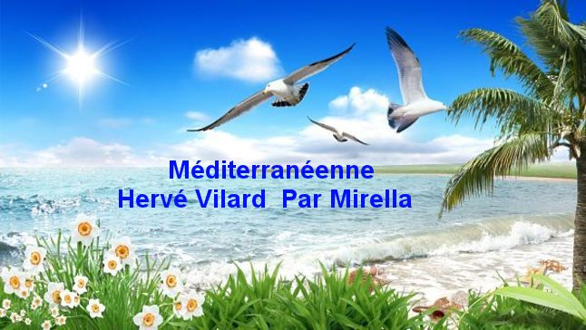 Méditerranéenne   Hervé Vilard   Par Mirella