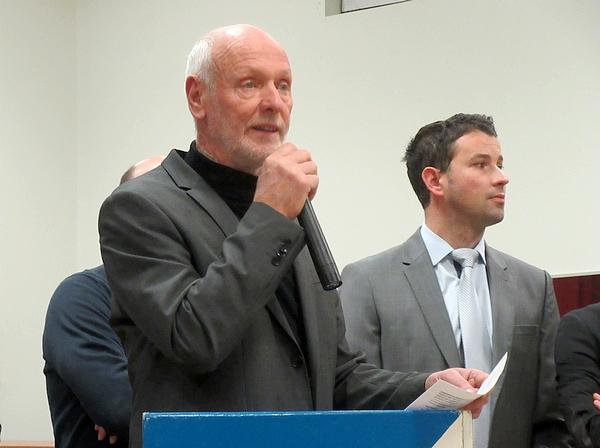 Les vœux pour 2019 de Francis Castella, Maire de Sainte-Colombe -sur-Seine