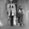 Ongotoya (aka Solitary Traveler) and his son - Kiowa - 1892
