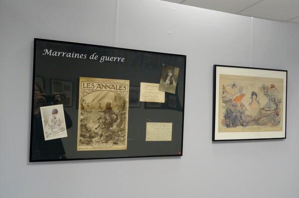 La grande Guerre en toutes lettres et Courriers insolites , une exposition organisée par la Bibliothèque Municipale au Musée du pays Châtillonnais