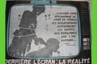 Une affiche contre la torture en Argentine réalisée par le COBA en 1978 (DR).
