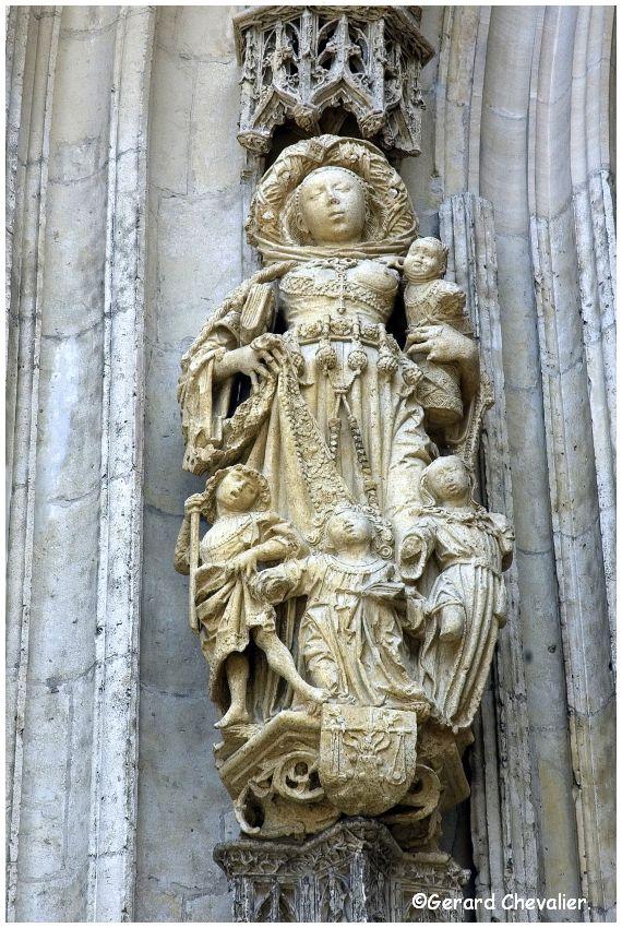 Abbeville - La collégiale Saint Vulfran #3