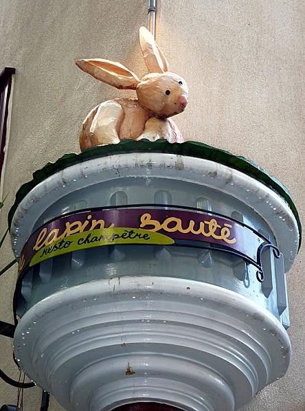 Québec resto Le lapin sauté b