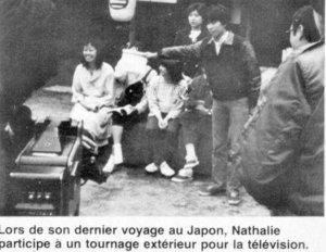Nathalie au Japon