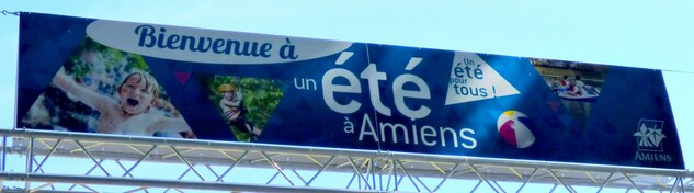 Mon été à Amiens