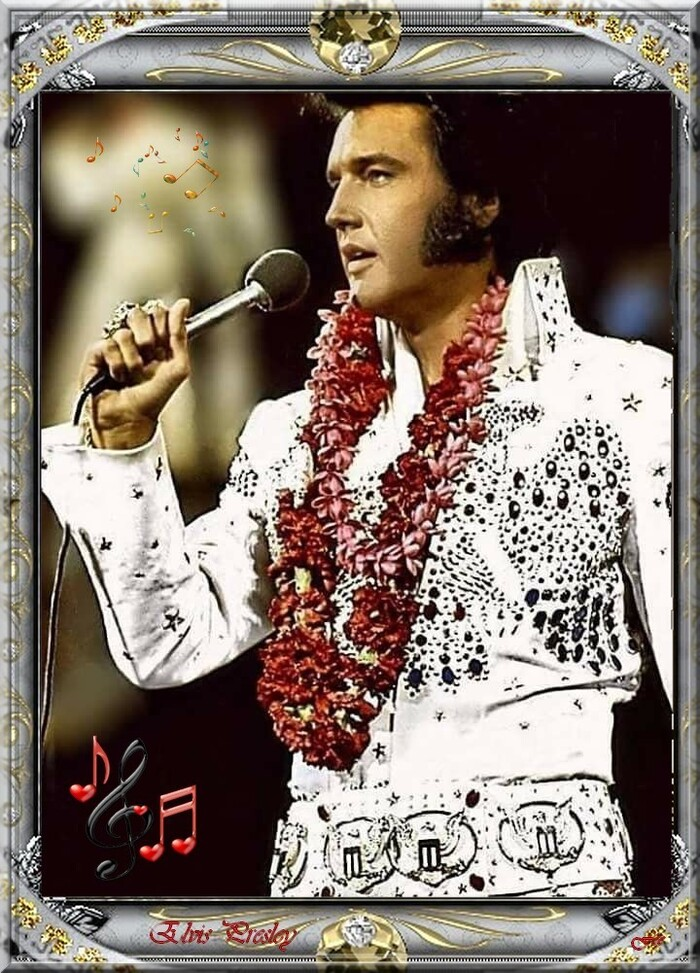 Elvis Presley... Love my tender