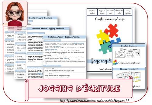 Jogging d'écriture: programmes et cartes
