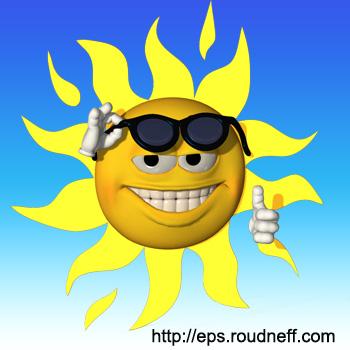 Ca fait rire le soleil, et vous ?