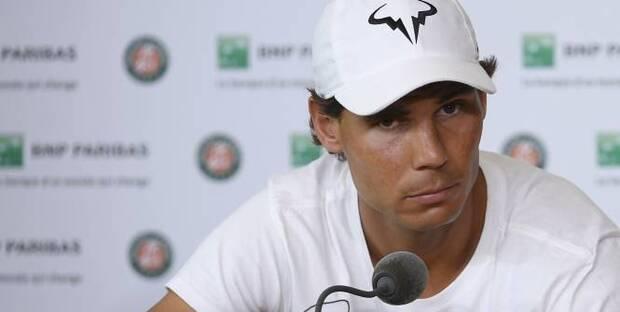 Rafael Nadal a déclaré forfait pour la suite du tournoi de Roland-Garros vendredi (Reuters)