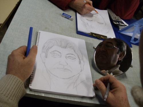 Auto-portraits...