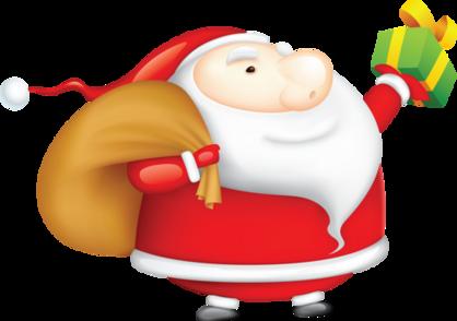 Tubes Noel/Nouvel An (2015) - thème Pères Noel - série 13