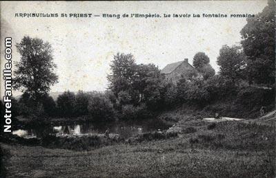 Arpheuilles-St-Priest, fontaine Sainte Madeleine