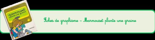 Marmouset plante une graine - Graphisme