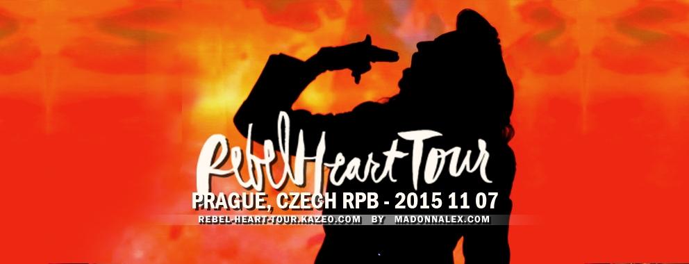Madonna Rebel Heart Tour Prague 1