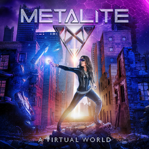 "METALITE - Les détails du nouvel album A Virtual World ; ""Peacekeepers"" Clip"