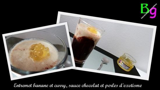 banane curry chocolat