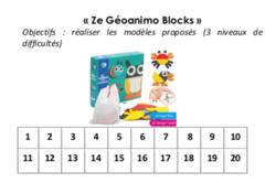 Fiche suivi « Ze Geoanimo Blocks »