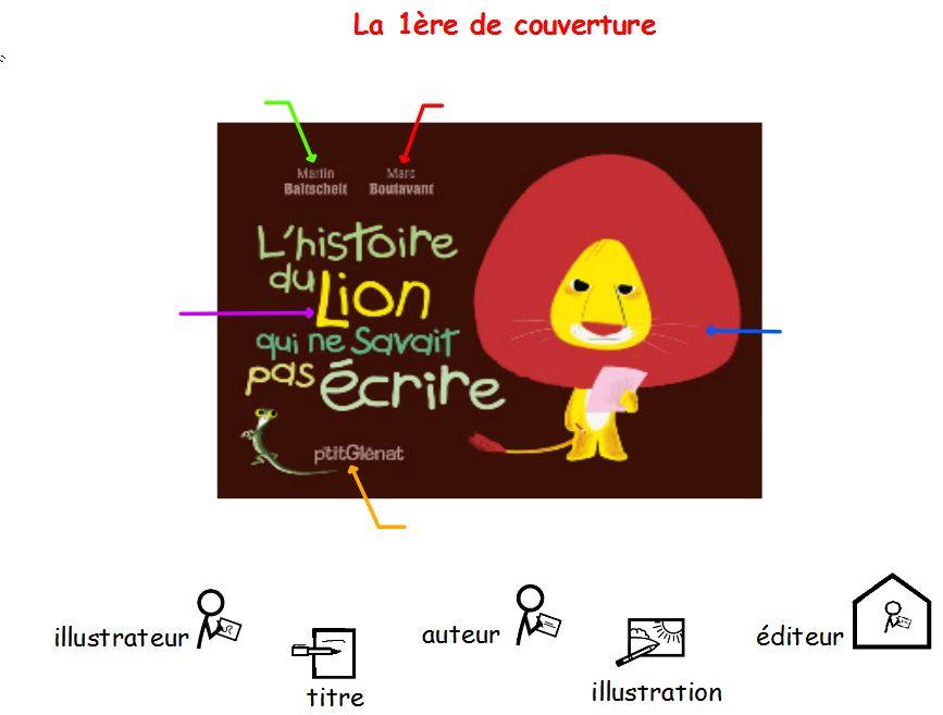 L Histoire Du Lion Qui Ne Savait Pas écrire Cp Le Petit