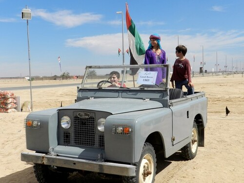 UAE Sweihan Expo land-Rover