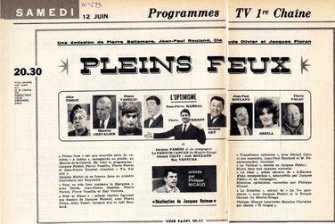 12 juin 1965 / PLEINS FEUX
