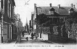 cartes-postales-photos-Rue-de-la-Mer-LANGRUNE-SUR-MER-14830