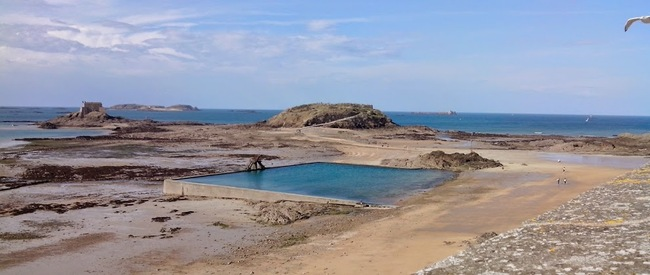 Le Petit Bé et le Grand Bé - Saint Malo