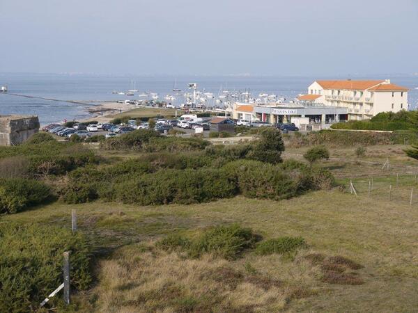 Vue depuis la terrasse du phare