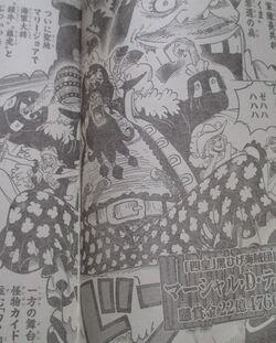 One Piece Spoils du Scan Chapitre 925 VF