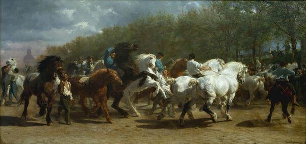 Samedi - le tableau du samedi : Hommage aux chevaux