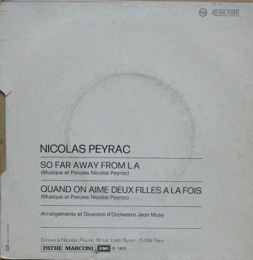 Nicolas Peyrac - So Far Away From L. A. (1975) 02